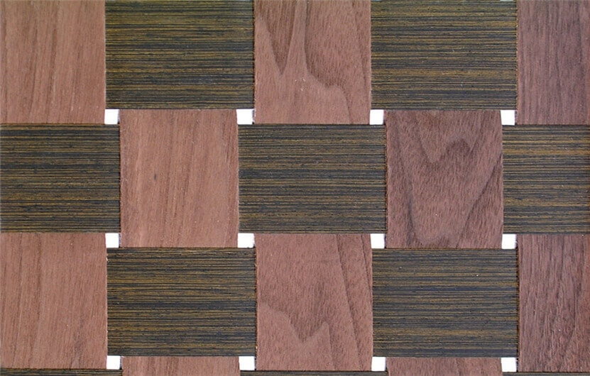 braid wood veneer