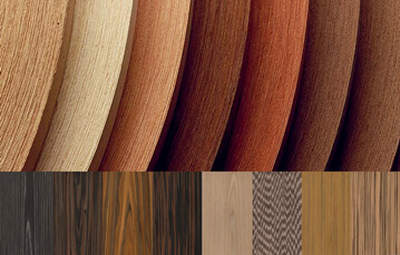 all kinds of wood veneers