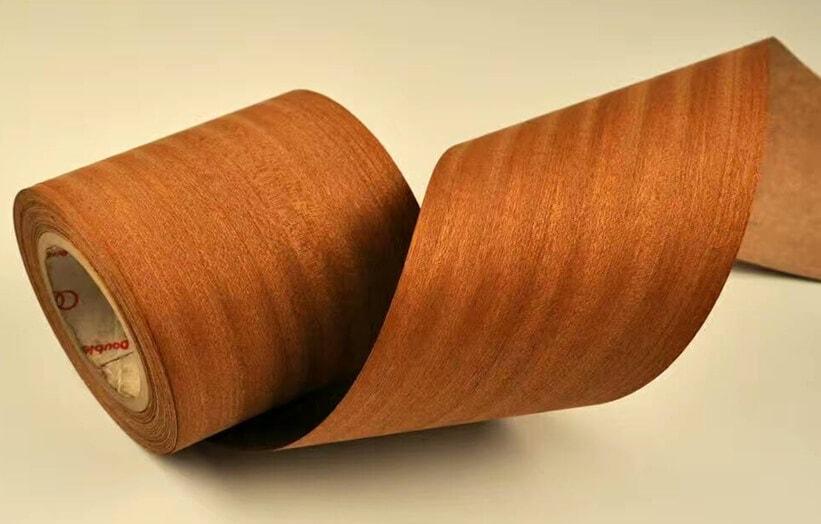 wood veneer roll