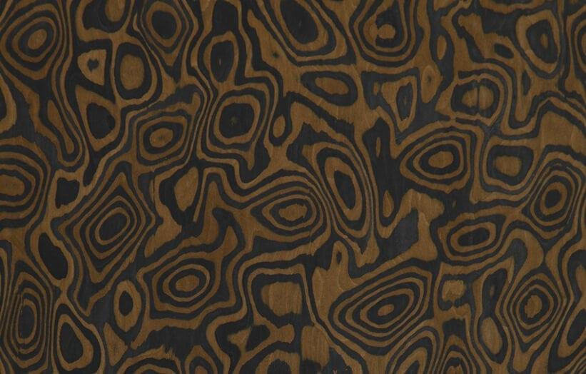 Burl Wood Veneer Dyed Engineered Burl Wood Veneer Sheets