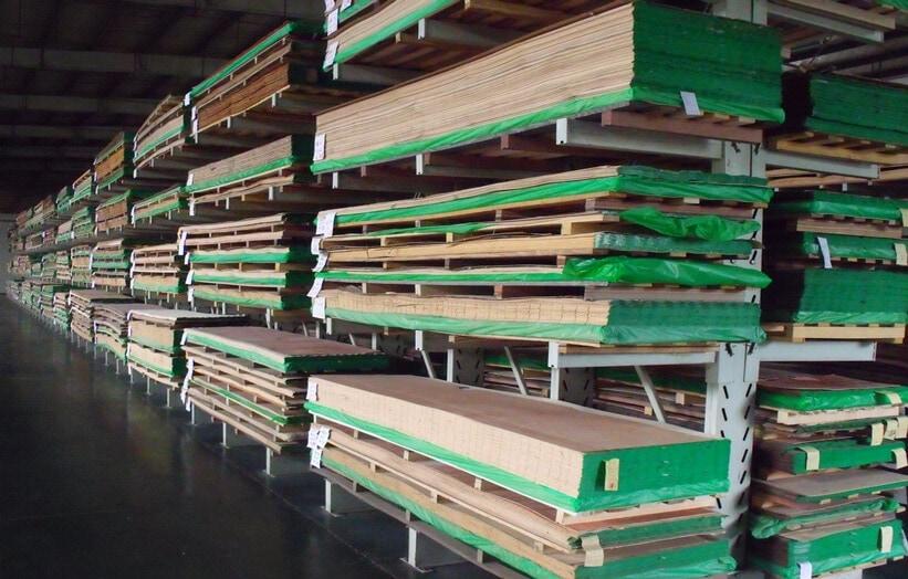 wood veneer types