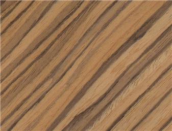 Chapa de madera zebrano