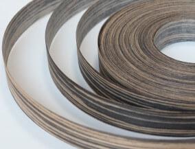 edge banding veneer engineered ebony