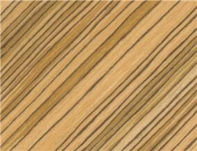 engineered veneer zebrano A011S