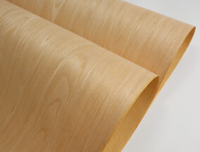 paper back engineered oak veneer