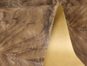 paper back walnut burl veneer