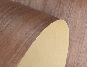 paper back walnut veneer