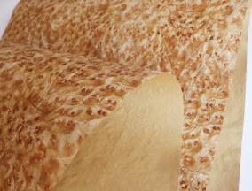 Golden Burl Veneer